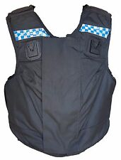 Ex Police Male Global Armour Body Armour Ballistic Stab Spike Vest With Checker