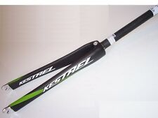 "NEW - Kestrel EMS-Pro-SL, Full-Carbon Fork, 1-1/8"", Black/Green"