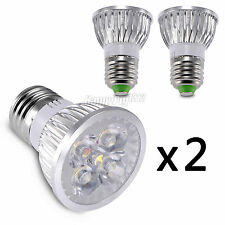 2ps E26 E27 4W LED Spot Light Lamp Bulb Saving Spotlight 12VDC 85-265V 110V 220V