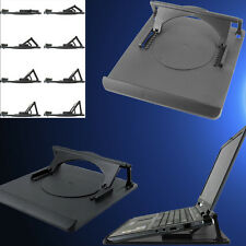 Cooling Stand Holder Mount Desk Pad 360 Rotation Swivel Tray Laptop Notebook