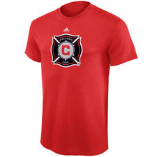 adidas Chicago Fire SC Youth Red Primary Logo T-Shirt - MLS