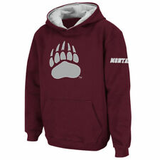 Stadium Athletic Montana Grizzlies Youth Maroon Big Logo Pullover Hoodie