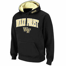 Stadium Athletic Wake Forest Demon Deacons Black Arch & Logo Pullover Hoodie