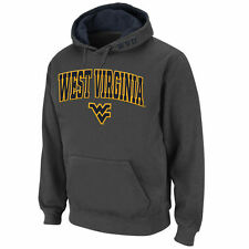 Stadium Athletic West Virginia Mountaineers Charcoal Arch & Logo Pullover Hoodie