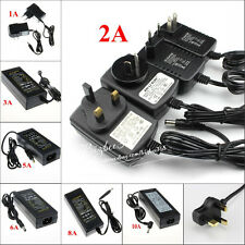 12V 1A/2A/3A/5A/6A/8A/10A Power Supply Charger Transformer Adapter For LED Strip