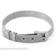GB Wholesale Stainless Steel Wristbands Buckle 7.7mm wide 21cm