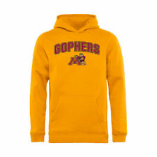 Minnesota Golden Gophers Youth Gold Proud Mascot Pullover Hoodie