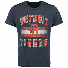 Majestic Threads Detroit Tigers Navy Exclusive T-Shirt