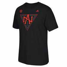 adidas North America Hockey Black 2016 World Cup of Hockey Primary Logo T-Shirt