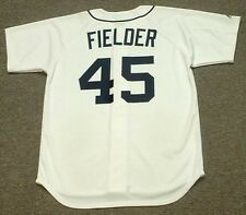 CECIL FIELDER Detroit Tigers Majestic Throwback Home Baseball Jersey