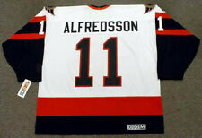 DANIEL ALFREDSSON Ottawa Senators 2007 CCM Throwback Home NHL Hockey Jersey