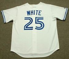 DEVON WHITE Toronto Blue Jays 1993 Majestic Cooperstown Home Baseball Jersey