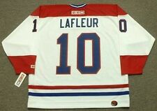 GUY LAFLEUR Montreal Canadiens 1983 CCM Throwback Home NHL Hockey Jersey