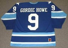 GORDIE HOWE Houston Aeros 1974 WHA Vintage Throwback Hockey Jersey