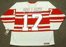 GERARD GALLANT Detroit Red Wings 1992 CCM Vintage Throwback NHL Hockey Jersey
