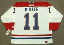 KIRK MULLER Montreal Canadiens 1993 CCM Throwback Home NHL Hockey Jersey