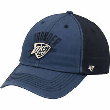 '47 Oklahoma City Thunder Navy/Black Humboldt Franchise Fitted Hat