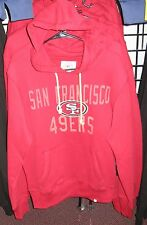 San Francisco 49ers NFL Official Pullover Hoodie Sweatshirt - Free Ship - SALE