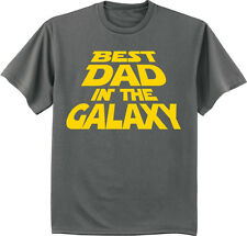 Fathers day t-shirt best dad in the galaxy funny saying gift for dad tee shirt