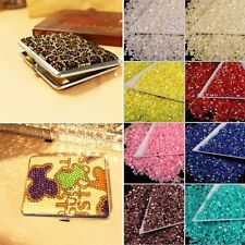 1000x Sparkling Bling Resin Beads Rhinestone Flatback Crystal DIY 4mm 14 Facets