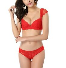 $99 embroidery lace Chic straps Push up Bra sets with panties 32 34 36 38 A B C