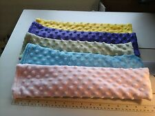 Microwave Flax seed/Rice (Lavender opt.), Hot/Cold  Neck & Shoulder Wrap Pillow