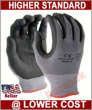 120 Pairs Micro Foam PU / Nitrile Coating Nylon Gloves S,M,L,XL Working Glove