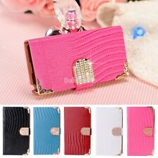 Luxury Flip PU Leather Wallet Case Cover For Samsung Galaxy Note 3 III N9000 BE0