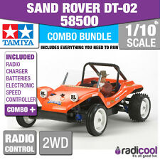 COMBO DEAL! 58500 TAMIYA SAND ROVER DT-02 1/10th R/C RADIO CONTROL 1/10 BUGGY