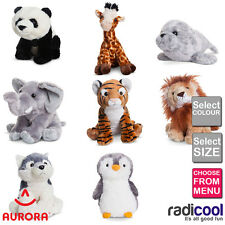 Aurora Destination Nation WILDLIFE PLUSH Cuddly Soft Toy Teddy Gift New Baby