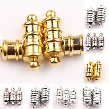 5/10Sets Oval Strong Magnetic Clasps Mixed Color&Size Jewelry Crafts Findings