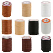 Leather Sewing Waxed Thread For Awl Upholstery Shoe Luggage DIY Craft 0.55/0.6mm