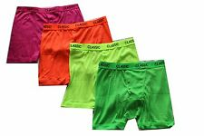 6 Pairs mens neon color boxershorts