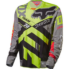 Fox Mtb Demo Ls Mens Jersey Bike - Grey All Sizes