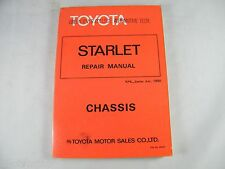 Toyota Starlet Workshop & Owners Manual