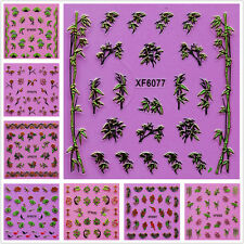 Free DIY Tips Nail Care Manicure Nail  Decals Water Transfer Stickers Decoration