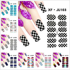 DIY Tips Nail Care Decoration Manicure Nail Art Decals Water Transfer Stickers