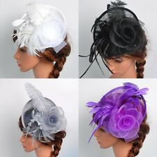 Chic Women's Fascinator Hat Party Cocktail Wedding Hair Clip Headpiece Hair Pin