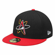 New Era Albuquerque Isotopes Black Authentic Collection 59FIFTY Fitted Hat