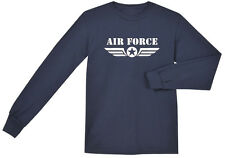 US Air Force shirt Men's long sleeve navy blue USAF t-shirt air force star