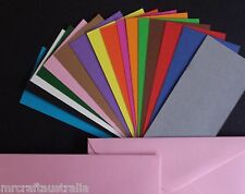 20 x DL Envelopes 110x220mm in 120GSM Quality BRIGHTS  - choose from 13 colours
