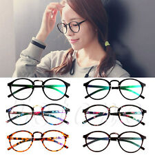 Fashion Unisex Retro Round Frame Glasses Vintage Clear Lens Eyeglasses Hipste