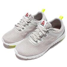 Reebok ZQuick Lite ZRATED Grey Yellow White Womens Running Shoes Sneakers V71834