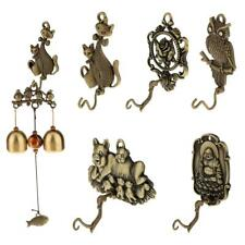 Antique Metal Wind Chime Hanger Bell Classical Ornament Coat Hat Hook 5 Types