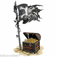 Pirate Ship Party Scene Setter Add-on TREASURE CHEST Prop Sticker Decoration