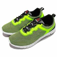Reebok ZQuick Lite Yellow Green White Mens Running Shoes Sneakers V71829