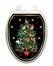 Twelve Days of Christmas Toilet Tattoo - Removable Reusable Bathroom Decoration