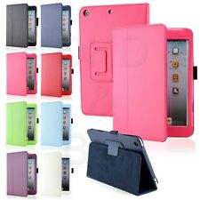 New Soft Leather Wallet Smart Case Cover Sleep / Wake Stand for APPLE iPad mini