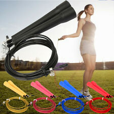 1Pcs Original Ultra Speed Cable Wire Adjustable Skipping Skip Jump Rope Crossfit