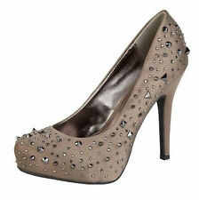LADIES-ANNE-MICHELLE-STUDDED-SPIKEY-HIGH-HEEL-STILETTO-COURT-SHOES-L2236